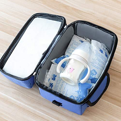 Flushzing 8L Kühltasche Multifunktionale Wiederverwendbare Warmhalten Handtasche Zweikammer Thermal Cooler Tote -