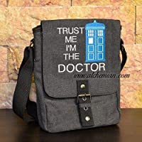Borsa ricamata Doctor Who - Trust me, I'm the doctor