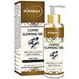 St.Botanica 4D Coffee Slimming Body Cream For Stomach, Hips, Thighs, Body Anti Cellulite & Skin Toning - 100ml