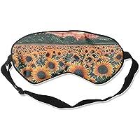 Comfortable Sleep Eyes Masks Sunflower Printed Sleeping Mask For Travelling, Night Noon Nap, Mediation Or Yoga E3 preisvergleich bei billige-tabletten.eu