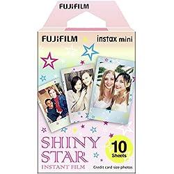 Fujifilm Instax Mini Monopack de 10 Films pour développement instantané Shiny Star
