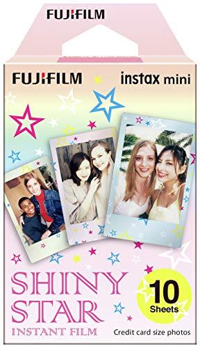 Fujifilm 16404193 - Colorfilm instax Mini Star WW 1, película fotográfica instantánea (10 Hojas per Pack), Estrellas