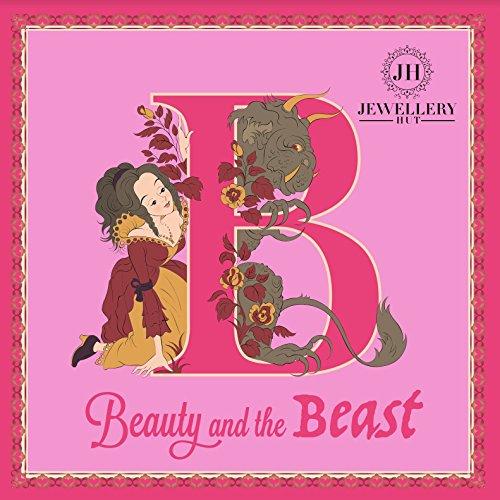 'Beauty und The Beast' Kinder-Charm-Armband mit Geschenk-Box Mädchen Schmuck - 3