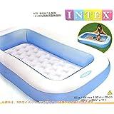 Nyrwana square/rectangle water Inflatable Intex tub pool (blue)