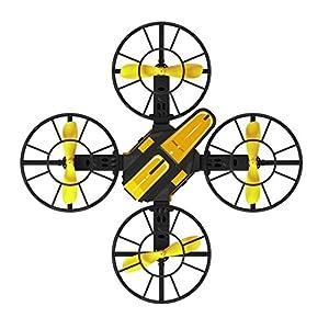 JIANGfu X1 2.4G 2.4GHz Plug-in 4-Axis Mini DIY RC Drone Quadcopter 720P HD Camera FPV Flying Toys