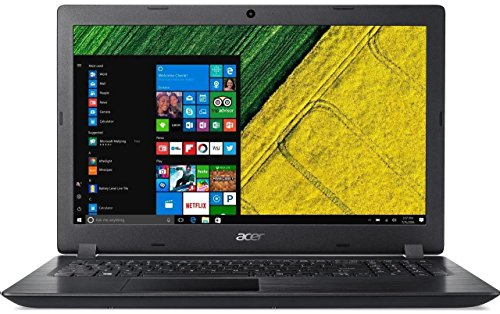 Acer Aspire 3 A315-51 (15.6 inch) Notebook Intel Core i3 -6006U 2GHz, 4GB RAM, 1TB HDD, WLAN BT Webcam, HD Graphics 520, Windows 10 Home