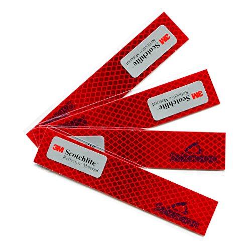 Salzmann 3M Diamond Grade Adhesivos Reflectantes y Impermeables | Adhesivos para Coches,...