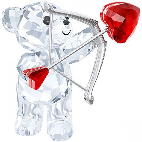 Swarovski orso 5136438Kris, Cupido vetro 4,4x 4x 3,5cm, trasparente/Rosso