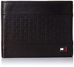 Tommy Hilfiger Cradle Black Mens Wallet (TH/CRADLE/GCW/BLACK)
