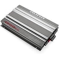 auna AB-650 • Amplificador de Coche • 6 Canales • Puenteable 5, 3 ó 2 Canales • Potencia 4800W • Crossover 1/2, 3/4, 5/6 • Aluminio Cepillado • Plateado