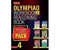 Class 4: Work Book & Reasoning Book Combo for NSO-IMO-IEO-NCO-IGKO (2018-19)