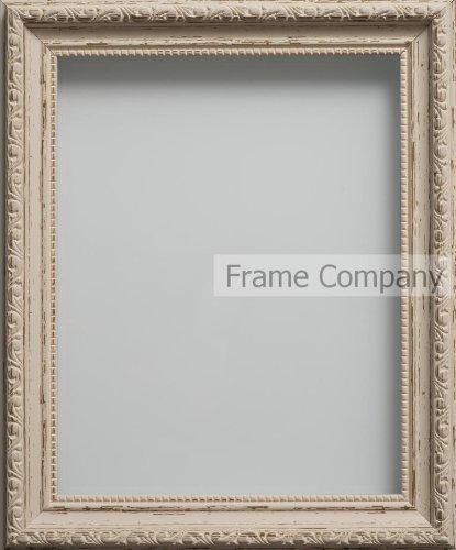 Frame Company - Cornice per foto serie Bromptonn, stile Shabby Chic, disponibile in diverse misure A4 (11.75x8.25'')- 29.7x21cm Vintage Cream