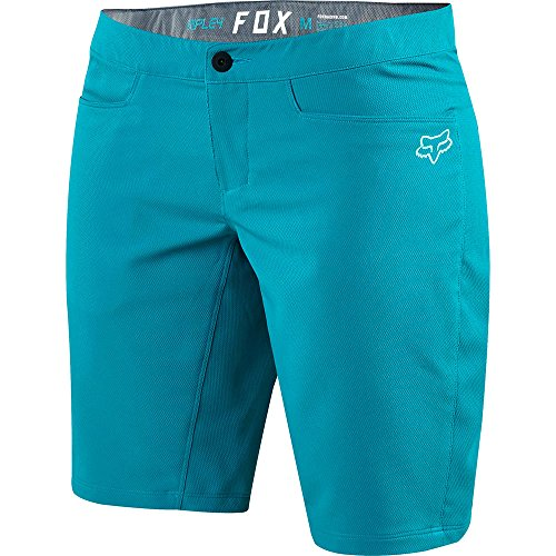 FOX Bike-Short Lady Ripley Jade, Blue, Größe L (Hose Liner Kurze)