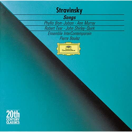 Stravinsky: Two Poems By Konstantin Bal'mont - 1. Nyezabudochka-tsvyetochek (The Flower)