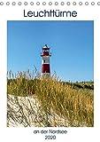 Leuchttürme an der Nordsee (Tischkalender 2020 DIN A5 hoch): Die schönsten Leuchttürme entlang der Nordseeküste (Monatskalender, 14 Seiten ) (CALVENDO Orte) - Andrea Dreegmeyer