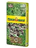 Floragard Bio Kräuter- und Aussaaterde ohne Torf 40 L, Bio-Erde mit Perlite für Aussaaten, Jungpflanzen u. Kräuter wie Basilikum, Thymian, Lavendel, Oregano