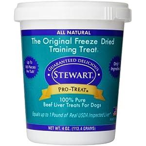 Stewart pro-treat Freeze getrocknet Leckereien für Hunde