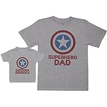Baby Bunny Superhero Sidekick - Regalo para Padres y bebés en un Camiseta para bebés y