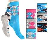 6 Paar farbig bunte Mädchen-Socken