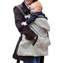 Butterme Hoodie Universal Tout couvercle de porte-saison bébé couverture coupe-vent bébé chaud manteau à capuchon porte-bébé