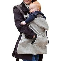 Butterme Hoodie Trägerabdeckung für Baby windundurchlässige Babydecke Warm Baby mit Kapuze Mantel Universal-All Season