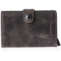 SECRID Mens Mini Wallet, Brown - MV CHOCOLATE