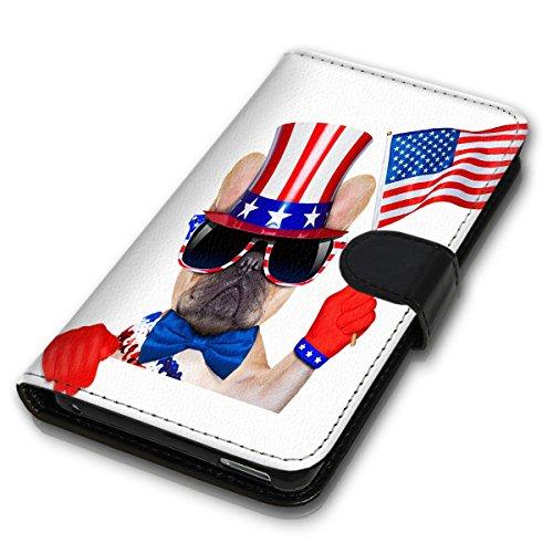 Wallet Book Style Flip Handy Tasche Case Schutz Hülle Schale Motiv Etui für Apple iPhone 6 Plus / 6S Plus - Variante UMV19 Design12 Design 5