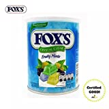 #5: Fox's Extracts Crystal Clear Fruity Mints, 180g
