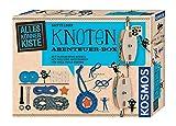 KOSMOS AllesKönnerKiste Knoten Abenteuer-Box. DIY-Bastelset für Jungen und...