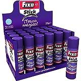 Grafoplas Fixo Stick Mágico Lot de 12 bâtons de colle Violet 40 g