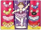 Melissa & Doug - Match n Mix Ballerina Dress-Up 'Peg - Holzpuzzle