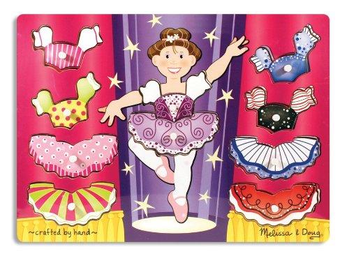 Melissa & Doug - Match n Mix Ballerina Dress-Up 'Peg� - (Up Melissa Doug Dress)