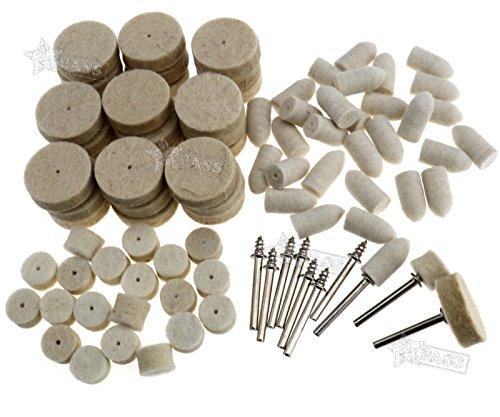 Preisvergleich Produktbild Generic.. AD Buff CL Boxen mit 90 Stück Filz Polieren ELT polishi reinigen Rad EAN Rad Point Dorn Hee Pad Buff Rota Rotary Werkzeug Tool..