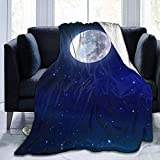 Searster$ Fleece Blanket Brilliant Diamond Wallpaper Coperta in Pile ultramorbido Flanella in velluto Coperta da Tiro in Peluche,50x40pollici