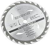 Silverline 260333 Hartmetall-Kreissägeblätter mit 20, 24 und 40 Zähnen, 3er-Pckg. 190 x 16, kein Reduzierstück