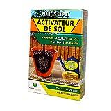 Planete Ambiente Bio Fertilizzante Biologico attivatore di Suolo, Piante in Vaso, 100 g