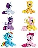 6er Set Original Lizenzprodukt - My Little Pony - Friendship is Magic/ Freundschaft ist Magie Collection, ca. 17 cm