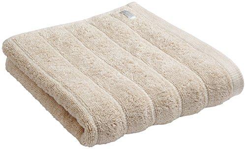 Bianca Cotton Soft BIANCA Baumwolle Weiche Gerippte Handtuch, cremefarben, baumwolle, neutral, Handtuch (Moderne Handtuch-kollektion)