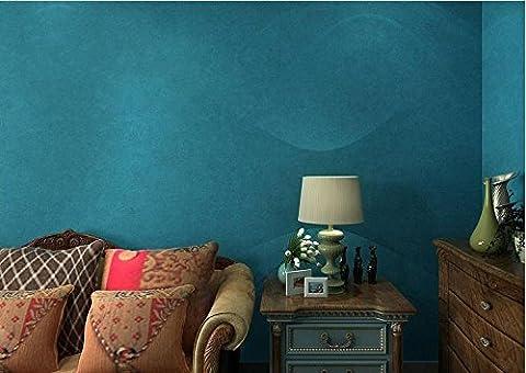 Papier peint peinture murale Couleur unie bleu clair papier peint soie bleu foncé fond d'écran clair salon chambre murs remplis de Pu