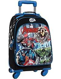 Marvel Avengers Street Mochila Escolar, 32.57 Litros, Color Azul
