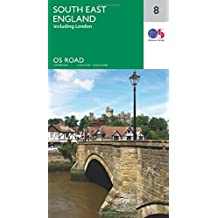 South East England (incl.London) 1:250 000 (OS Road Map)