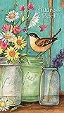 Lang Fleur bocaux Carnet d'adresses–Pocket par Susan Winget, 10,2x 16,8cm (1072027)