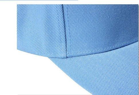 Imagen de leisial  de béisbol de ocio color sólido ajustable del sombrero hats hip hop verano tejido de transpirable para hombre mujer naranja  alternativa