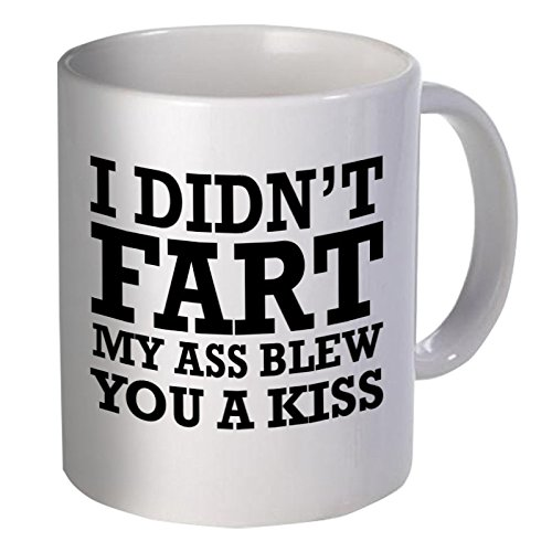 Mejor regalo divertido – Taza de café – I no Fart, mi ASS Ble