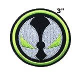 Application TV classique film Cosplay Spawn badge brodée fer ou Sewn-on Applique Patch