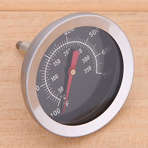51Iw2kTsxxL - Haushaltsthermometer Bratenthermometer Edelstahl BBQ Zubehör Grill Fleisch Thermometer Zifferblatt Temperatur