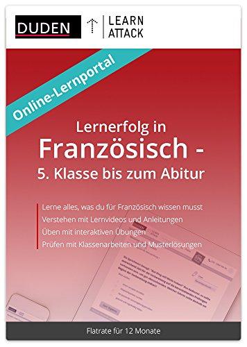 Duden Learnattack - Lernerfolg in Französisch - 5. Klasse bis zum Abitur (12 Monate Flatrate)