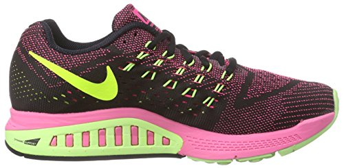 Nike Air Zoom Structure 18, Chaussures de Running femme Rose (Pink Pow/Ghost Green/Black/Volt)