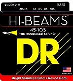 DR Strings HI-BEAM 45-105 Jeu de Cordes pour Guitare Basse