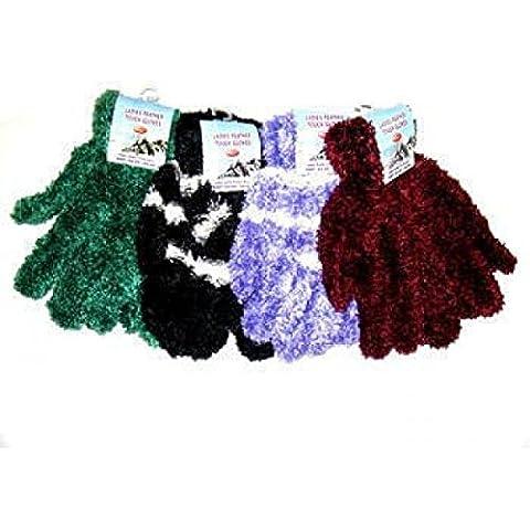 Katy Craig-Paio di guanti da donna in piuma, 12 pezzi